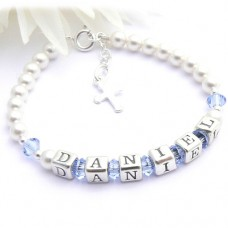 Boys Name Bracelet with Swarovski®