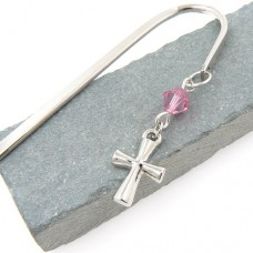 Cross Charm Bookmark