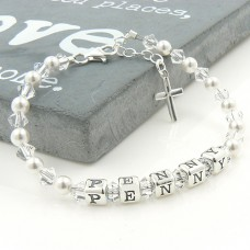 Childrens Name Bracelet with Swarovski®