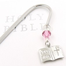 Holy Bible Charm Bookmark