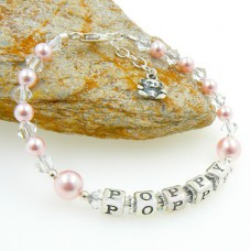 Personalised Childrens Bracelet with Swarovski®
