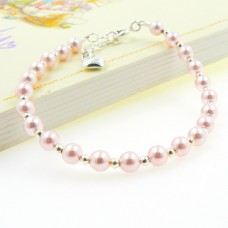 Sterling Silver and Swarovski® Pearl Bracelet