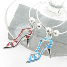 Sandals Wine Glass Charms - Set of 6