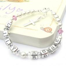 Two Name Swarovski® Crystal Bracelet
