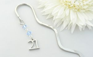 21st birthday gift bookmark