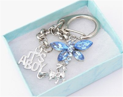 baby boy gift boxed charm