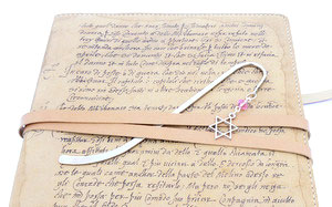 star of david charm bookmark