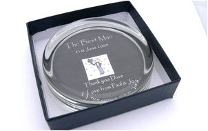 paper weight in a box, gifts for him