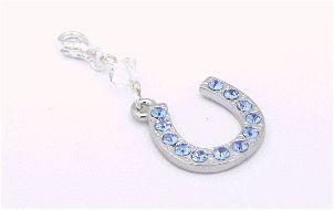 something blue keepsake lucky garter charm
