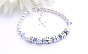 christening gift bracelet for boys