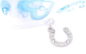 something blue wedding gift charms