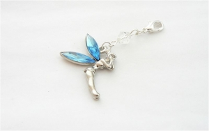 Something Blue Fairy Brides Garter Charm
