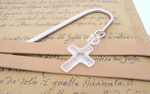 1st Holy Communion Crystal Cross Bookmark