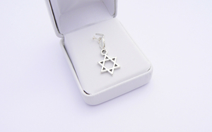 Sterling Silver Star of David Charm - Bat Mitzvah Gift