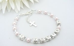 Childrens Name Bracelet - First Holy Communion Gift