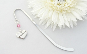 Mother of the Bride Charm Decorated Bookmark