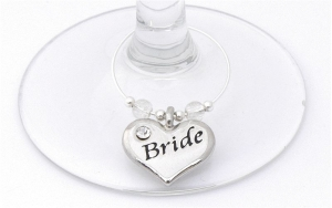 Wedding Table Decorations Wine Glass Charm