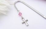 First Holy Communion Gift Bookmark - Cross Charm
