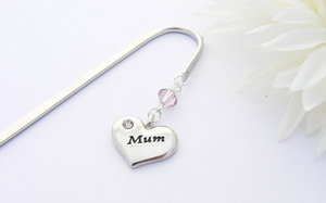 Mum Charm Bookmark - Birthday Gift