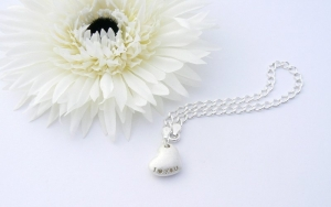 I Love You Heart Charm Bracelet - Anniversary Gifts