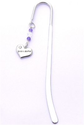 mother of the bride gift bookmark