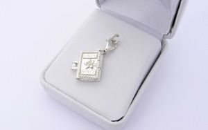 holy communion gift bible locket charm