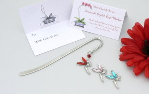 tinkerbell fairy bookmark gift
